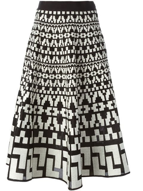 Shop DKNY embroidered A-line skirt in Gaudenzi from the world's best independent boutiques at farfetch.com. Shop 300 boutiques at one address.