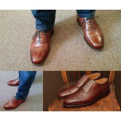 Loake Strand Brown - Loake Shoemakers - BUTY MĘSKIE - sklep.klasycznebuty.pl