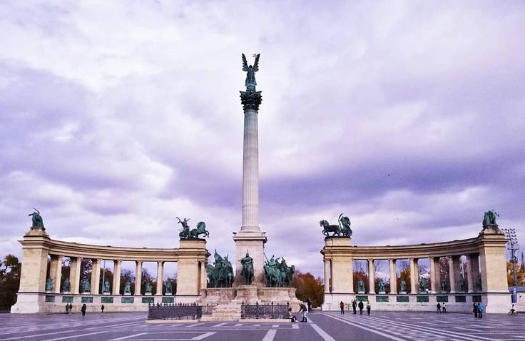 """""""Heroes Square, Budapest"""""""