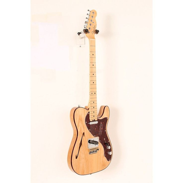 Fender American Elite Telecaster Thinline Maple Fingerboard Electric Guitar Natural 888366040140
