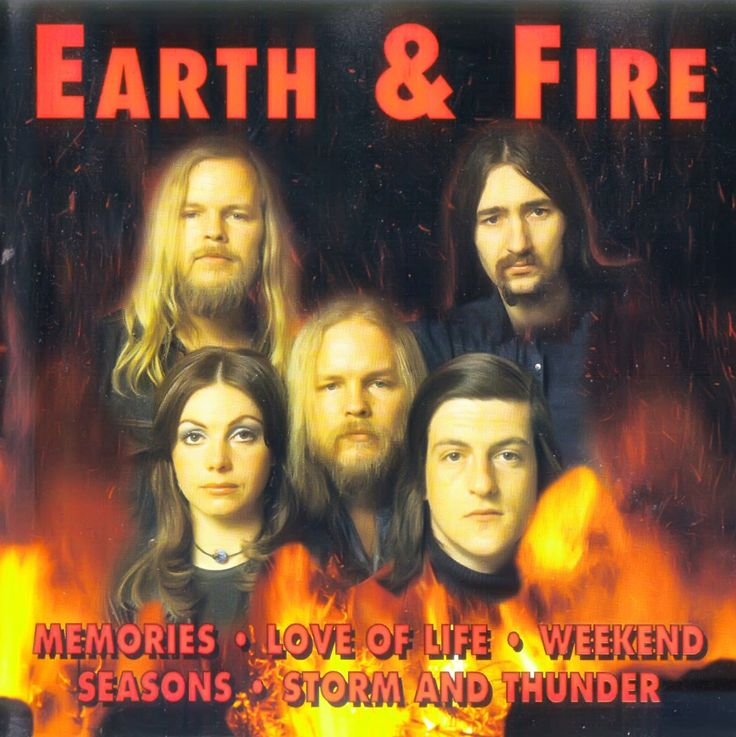 "'Earth and Fire' was psychedelic and symphonic pop band founded in 1967 as 'Opus Gainfull', but changed its name into 'Earth and Fire' as early as in 1968. The Koerts twins were two of the founding members with singer and front woman Jerney Kaagman. The band's big break in The Netherlands came in 1970 with ""Seasons"", a song written by George Kooymans, guitarist of fellow rockers 'Golden Earring'. The single reached no.2 in the Dutch charts."