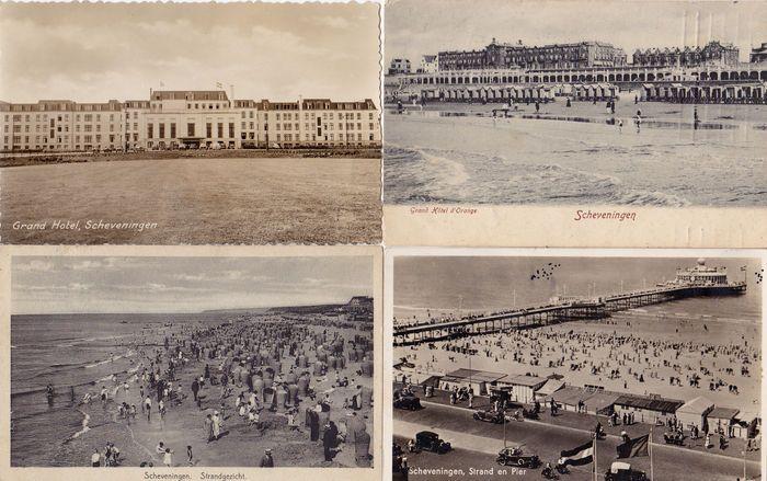 Scheveningen 32x; oude dorps- en strandgezichten ##