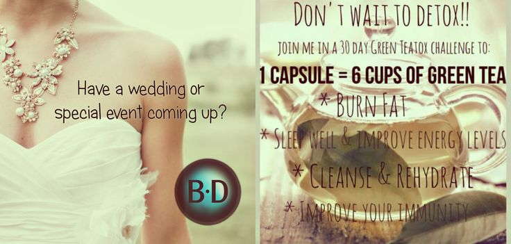 Getting married? Big event coming up? One capsule's antioxidant properties is 100 times more effective then Vitamin C & 25 times more effective then Vitamin E TeGreen supports the antioxidant defence system in the presence of pollution, stress & toxins. It promotes the body's ability to handle harmful free radicals! 97% Green Tea polyphenols! It's caffeine free! Visit www.nuskin.com & enter CA00173383 for your discount today!