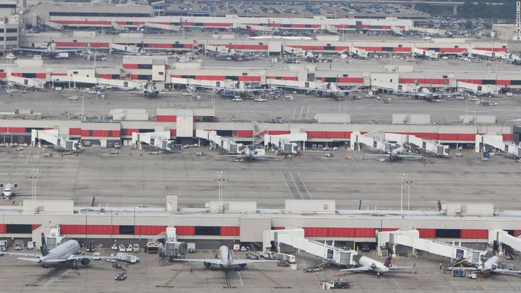 """<strong>Atlanta Airport: </strong>Atlanta ranked fourth in the major-airport category. Like Detroit, it's a hub for Delta Airlines, whose 84% punctuality OAG praised as a """"remarkable achievement"""" for an airline of its size."""