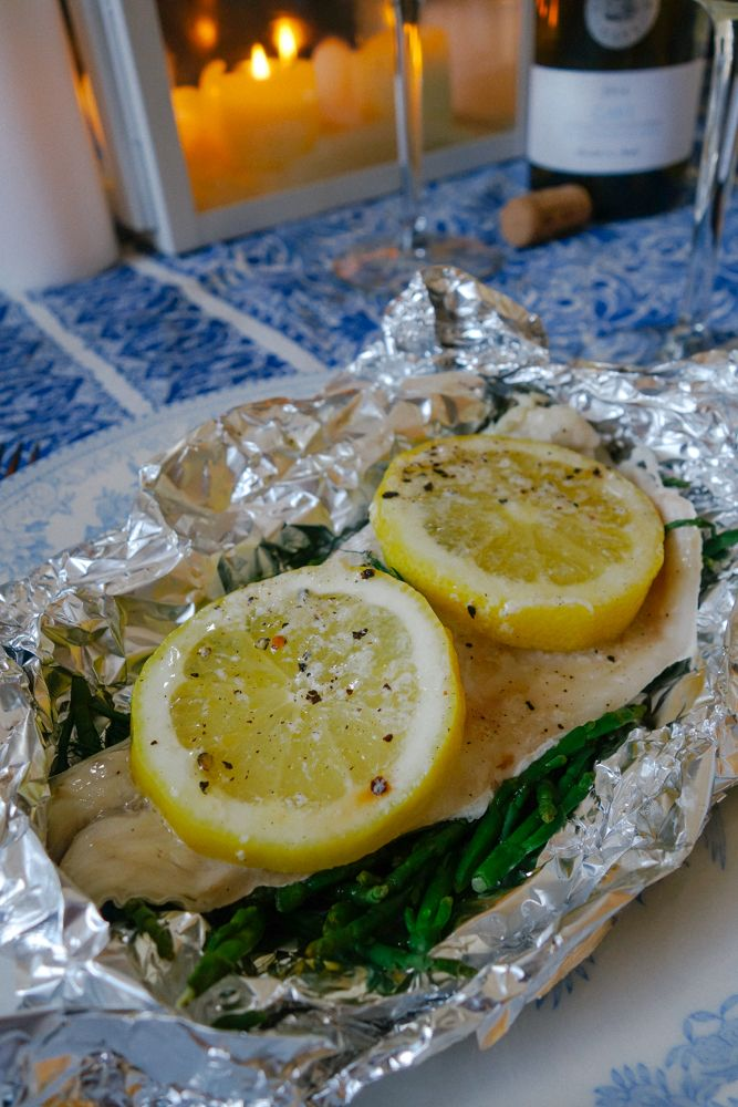 Steamed Fish and Samphire Parcels-17