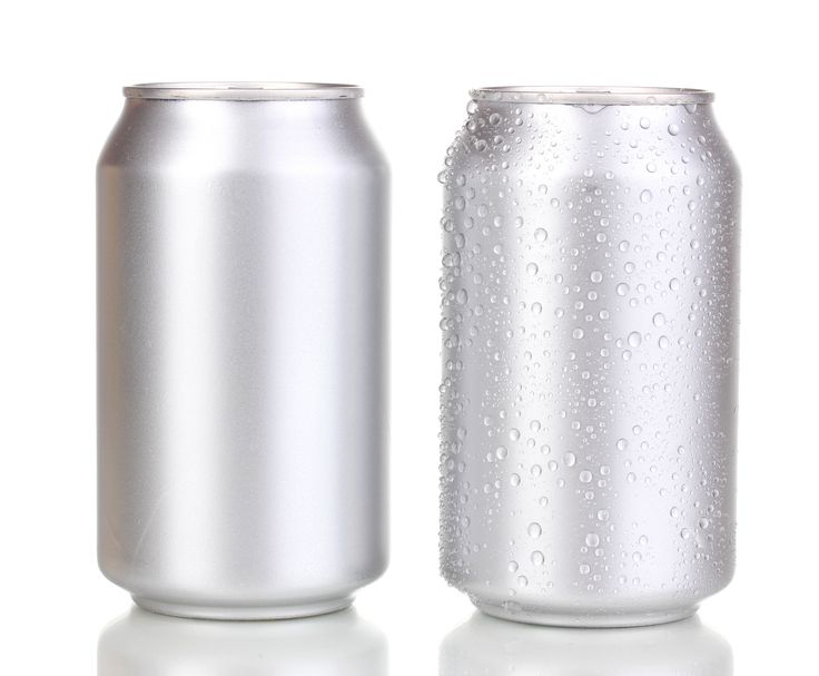 Drink Cans - Plain and with Water Droplets