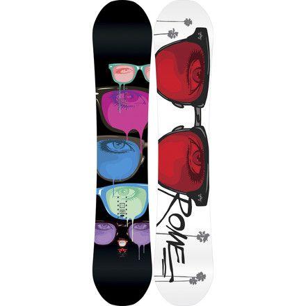 RomeLo-Fi Rocker Snowboard - Women's