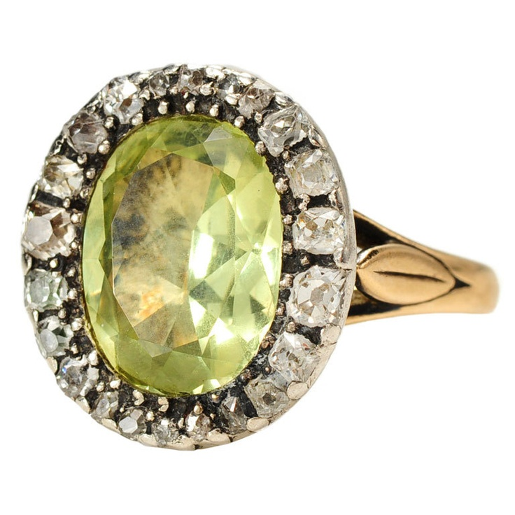 cocktail rings chrysoberyl vintage halo diamond ring products and