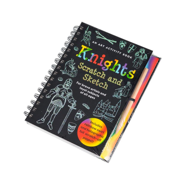Knights - scratch and sketch book #ShopHistory