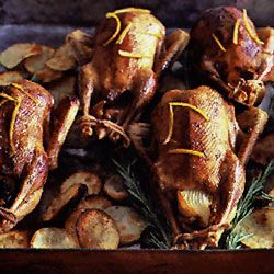 France - Roast Duck with Orange Sauce - Duck à l'orange _ is only as French as Catherine de' Medici, who popularized what was originally a Florentine dish in France. It was first made with bitter oranges, to offset the richness of the duck. This is our take on the classic.