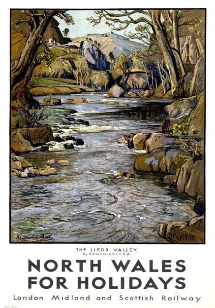 wales travel poster - Google Search