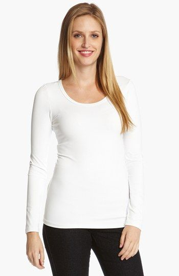 Karen Kane Supersoft Long Sleeve Tee available at #Nordstrom