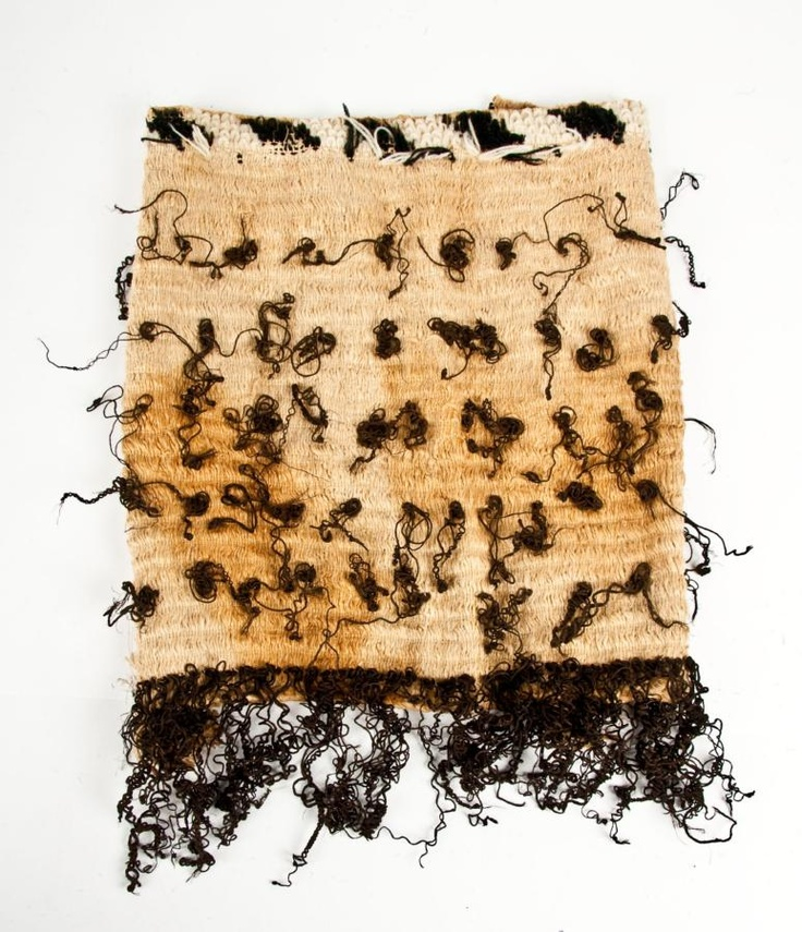 Fine childs Korowai, a finely woven muka cloak with double