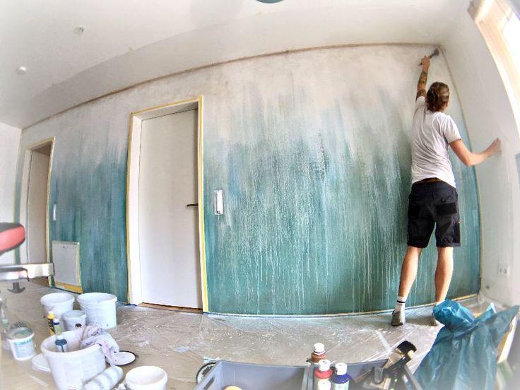 83 best sch ne wandgestaltung images on pinterest wall. Black Bedroom Furniture Sets. Home Design Ideas