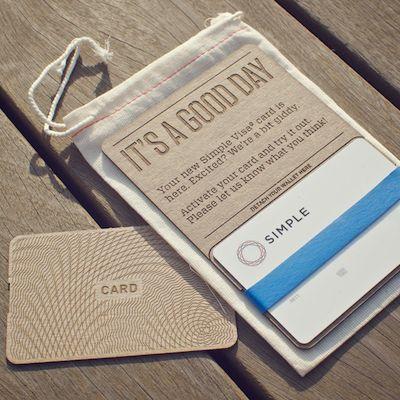 new [bank] simple branding