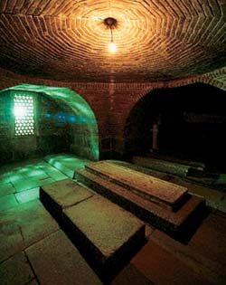 Гробница Тимура в мавзолее Гур-Эмир в Самарканде