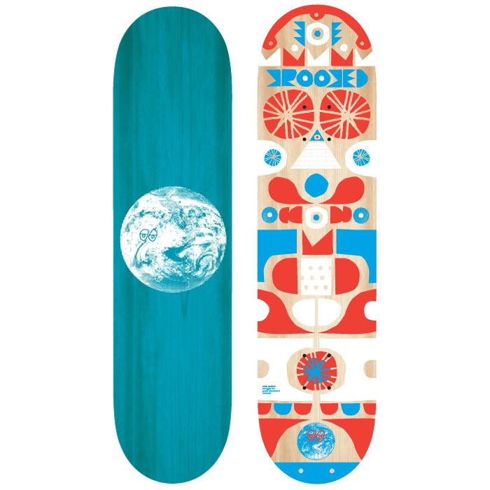 Cody Hudson skateboard design