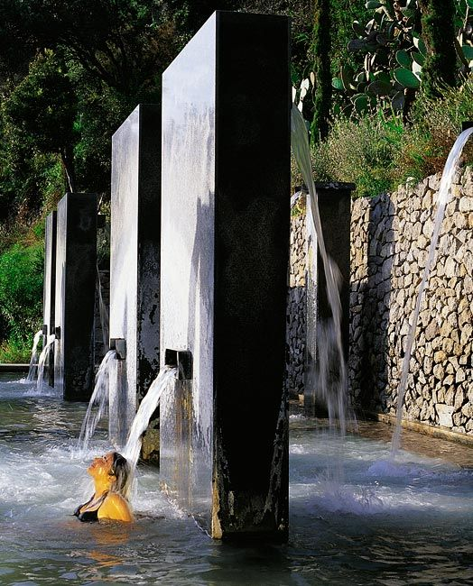 The Negombo Spa on the Italian Island of Ischia ( just off the coast of Napoli)