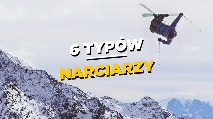 Wszyscy, którzy jeżdżą w góry wiedzą, że można spotkać w nich kilka typowych postaci – od rozpoczynających swą przygodę z nartami po tych śmigających profesjonalnie na desce. Przedstawiamy naszą listę 6 typów narciarzy i snowboardzistów, których najczęściej można spotkać na stoku w trakcie zimowych wyjazdów studenckich. | www.shakeit.pl
