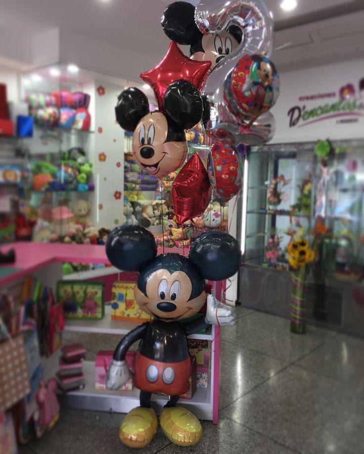 Globos para celebrar el segundo cumpleaños del príncipe de la casa 🎂🎈@Dencantos  #CreacionesDencantos #Dencantos #Floristeria #Tarjeteria #Peluches #Regalos  #CalleComercio #Cagua #Aragua #Detalles #Globos #GlobosConHelio #Cumpleaños #Mickey