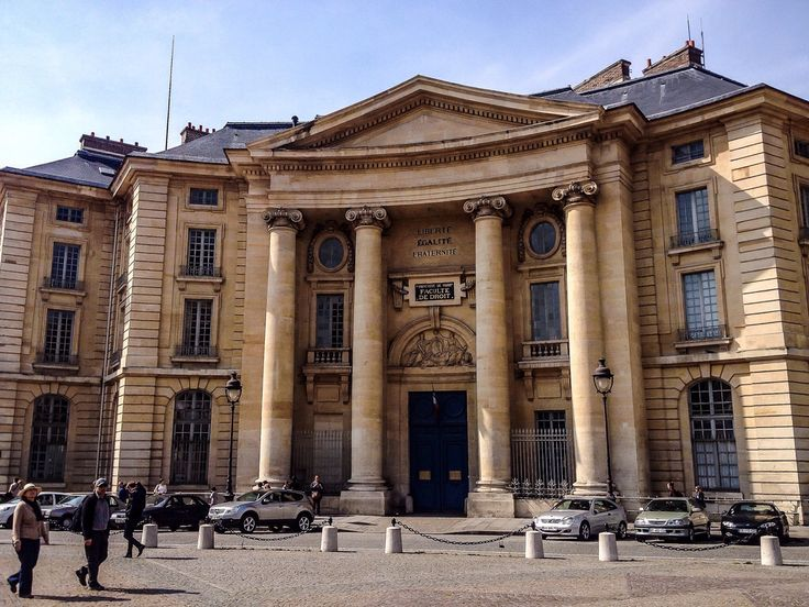 Edificio de Estudios de Derecho, Universidad de Paris Pantheon-Sorbonne (Paris - France)