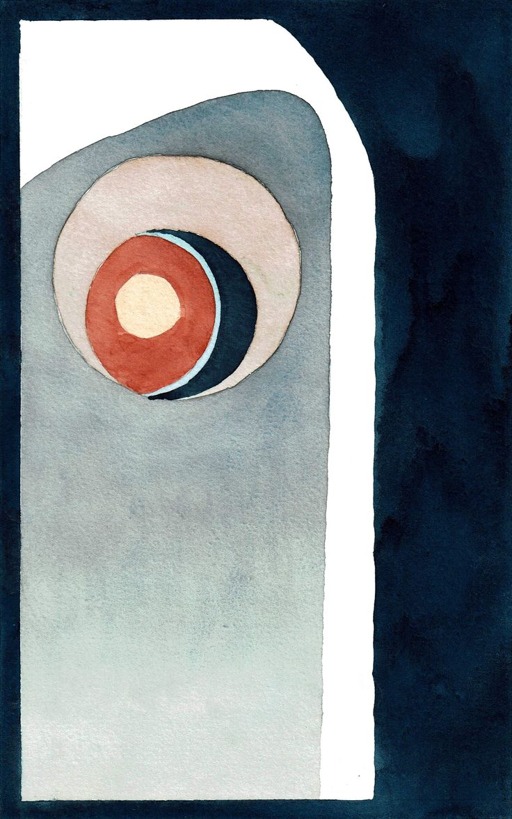 """""""Guardian Angel"""" by Lukas Bolz #circle #abstract #abstractart #art #watercolour #painting"""