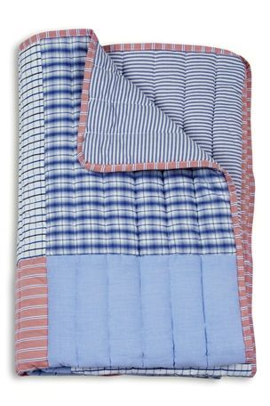 Cotton Quilted Patchwork Throw