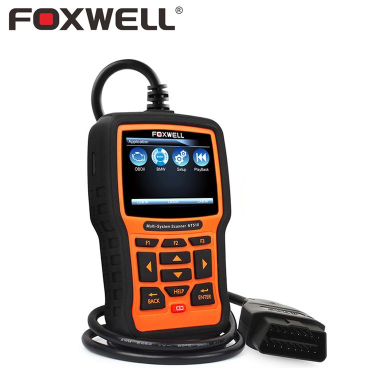 Foxwell nt510 full system auto obd diagnostic tool abs srs