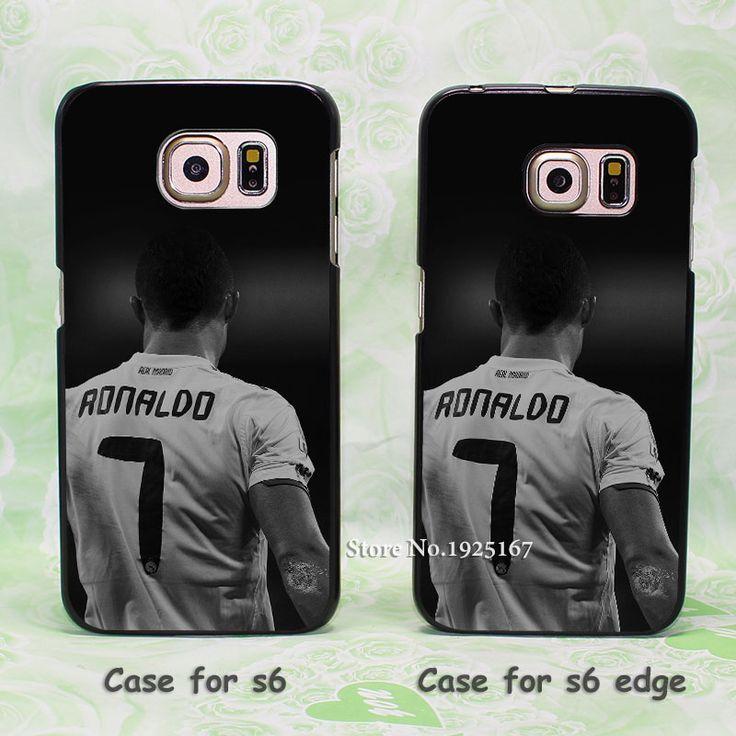 Cristiano Ronaldo CR 7 Soccer Dark Pattern hard black Case Cover for samsung s3 s4 s4mini s5 s6 s6edge