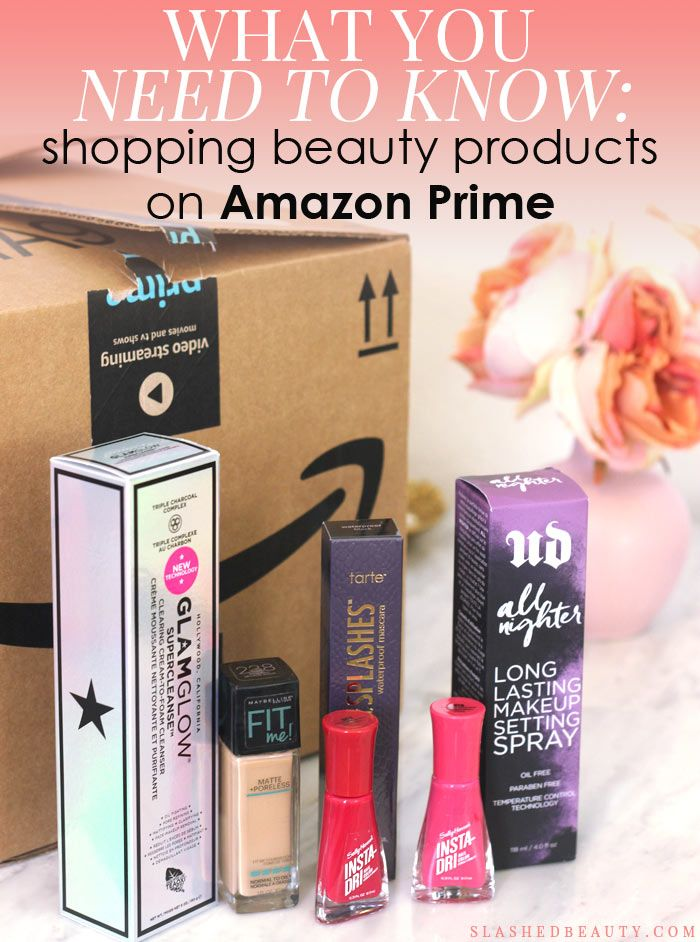 Amazon is now one of the greatest beauty destinations online. Check out my tips for shopping beauty products on Amazon Prime, and how to save money doing it!