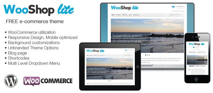 WooShop Lite – FREE WooCommerce Theme