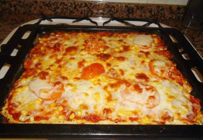 Lisztmentes pizza
