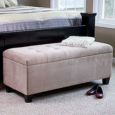 Entryway Bedroom Shoe Storage Organizer Ottoman Bench New Furniture
