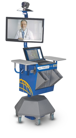 GlobalMed - FirstExam™ Mobile Telemedicine Station - Global Telemedicine Telehealth Medical Imaging Technology