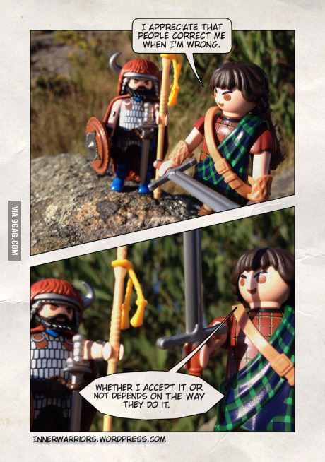 Humbleness with a chastity belt and instructions manual. #playmobil #innerwarriors #stories