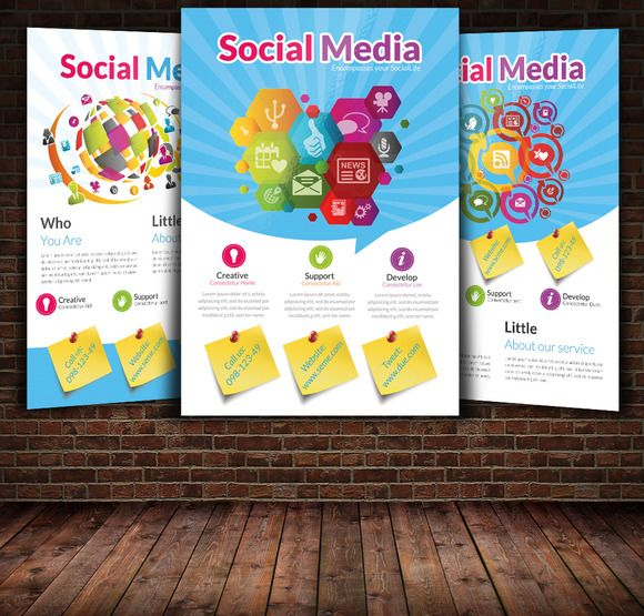 17 best images about flyer ideas on pinterest christmas parties creative and psd flyer templates for Social media templates psd