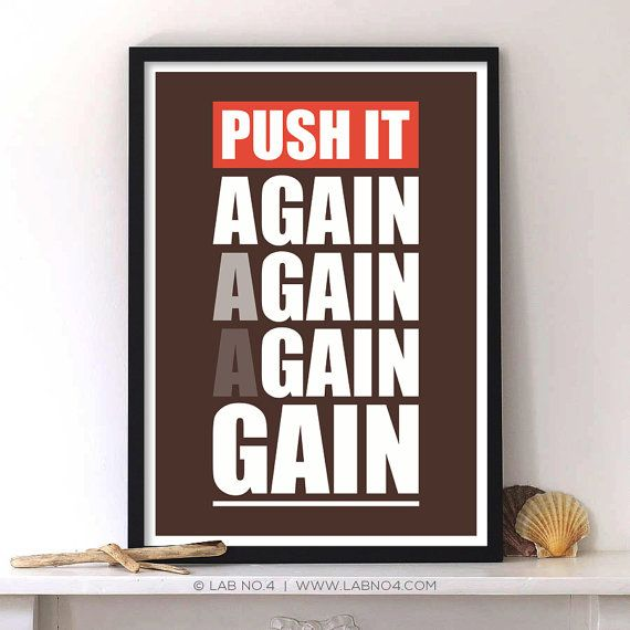 Best gym posters images on pinterest inspiration
