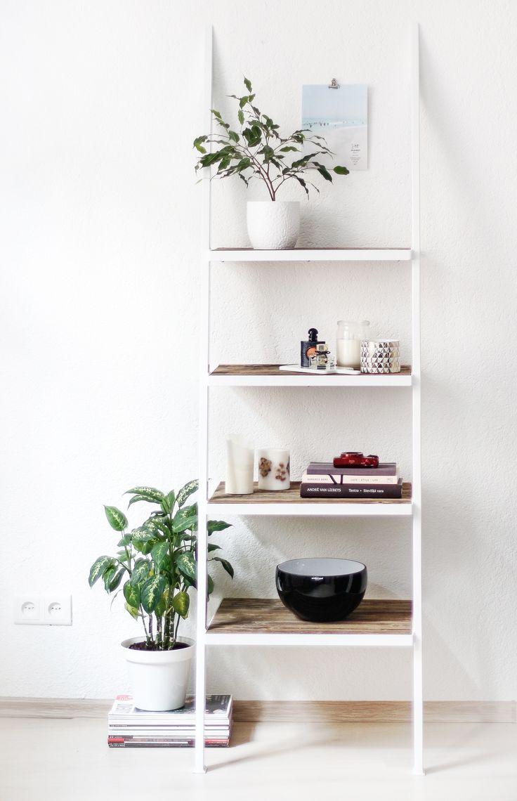 naive wood factory / white shelf