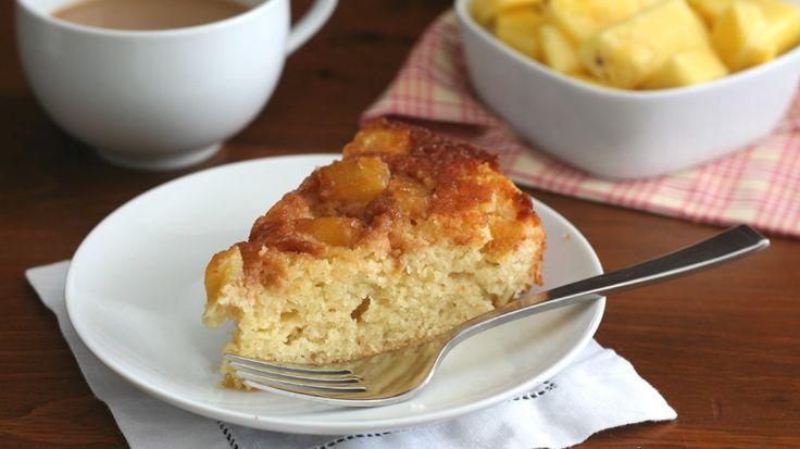Gâteau à l'ananas caramélisé à l'envers