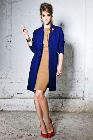 dsquared²: Fashion, Color Combos, Red Shoes, Dresses Shoes, Cobalt Blue, Jackets, Mad Men, Blue Coats, Red Pumps