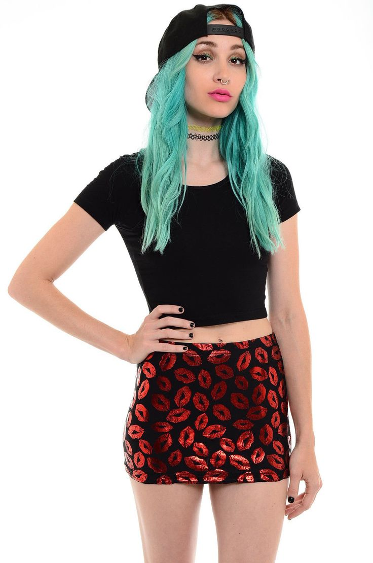 LIP SERVICE mini skirt #73-24 *VINTAGE* 90's*