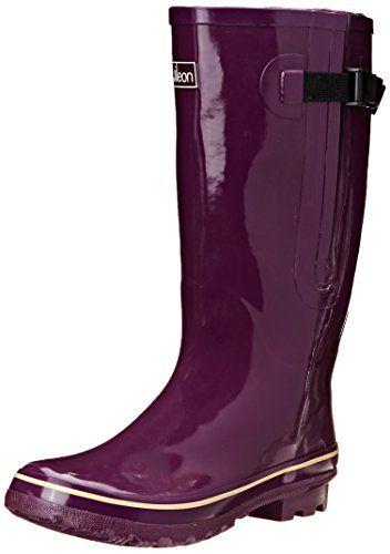 Extra Wide Calf Women's Rubber Rain Boots: Up to 21 Inch Calf - Purple (7) Jileon http://smile.amazon.com/dp/B00OCV4X42/ref=cm_sw_r_pi_dp_k3lDvb0NYQSEQ