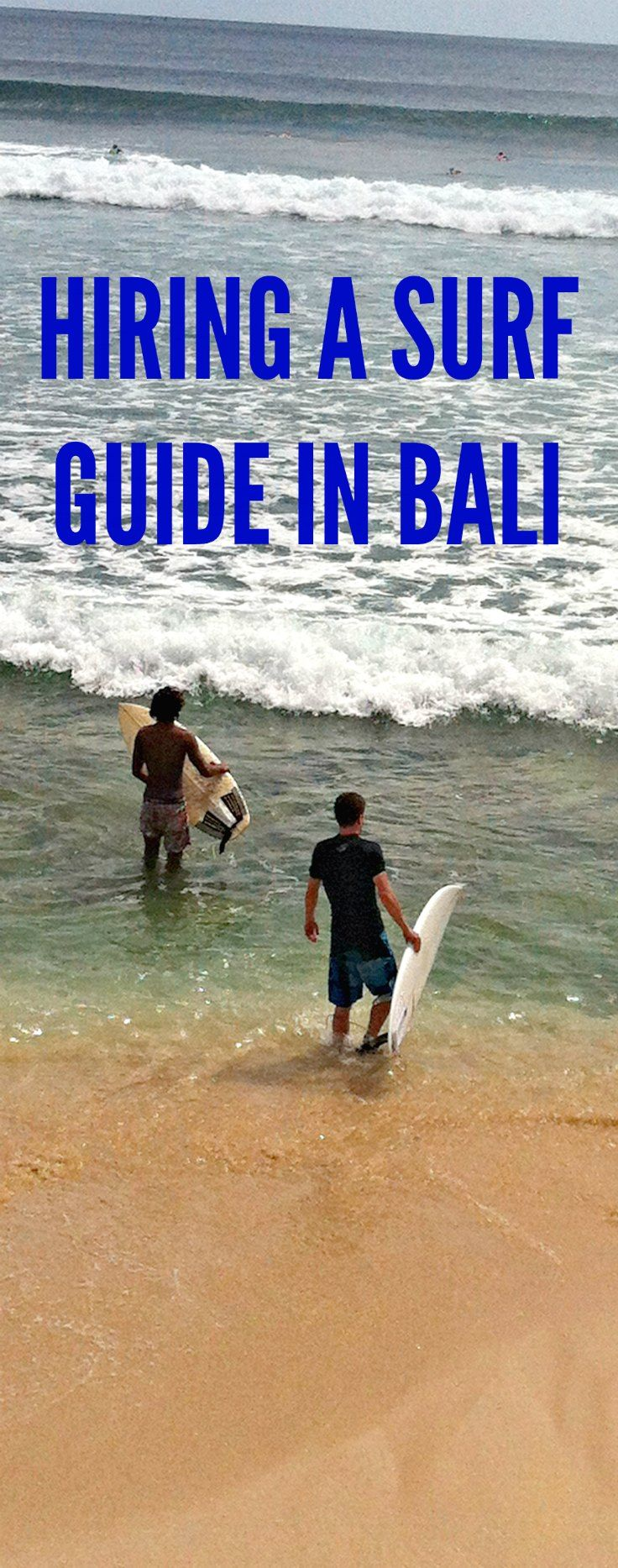 Even with major experience under your belt as a surfer, why it's a good idea to hire a local guide in Bali