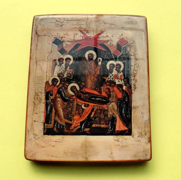 MONASTERY ICONS PLAQUE Falling Asleep Of The Virgin Dormition Of The Mother Of God Catholic Greek Orthodox Wall Hanging Κοίμησις Θεοτόκου, by MADONNASCOLLECTIBLES on Etsy