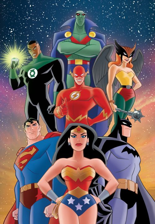 DCAU Justice League - Christopher Jones http://christopherjonesart.tumblr.com/post/137722584943/my-dc-comics-prints-available-in-my-etsy-store