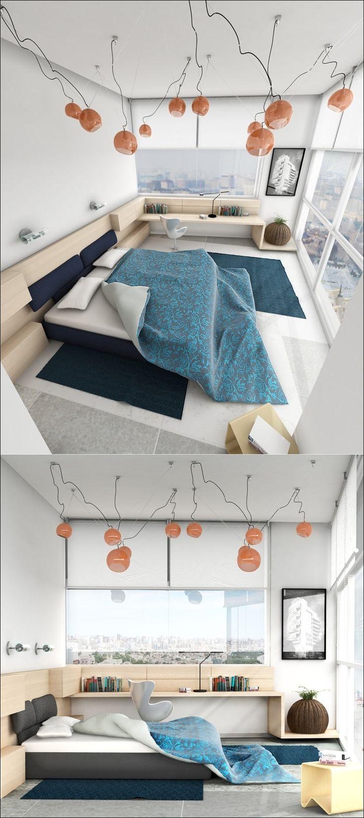 Простой и понятный, вдохновляющий дизайн спален | Design Zoom