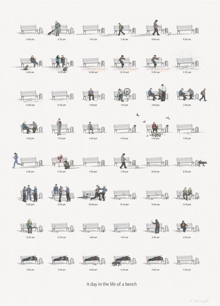 a-day-in-the-life-of-a-bench-feeldesain-poster-