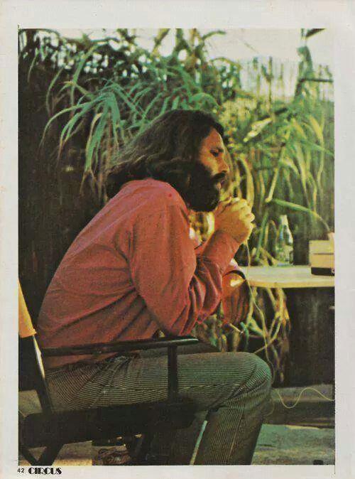 Jim Morrison, contemplating?