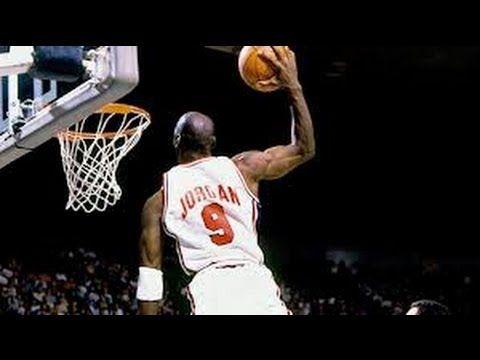▶ Michael Jordan's Top 10 Intense Slam Dunks Of All Time! - YouTube