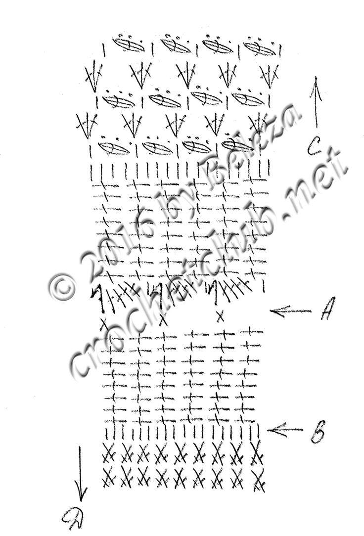 платья крючком от ванессы монторо-схема
